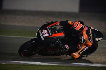 Aleix Espargaro quickest in night testing Qatar