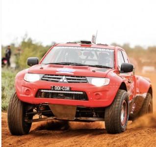 Chapmans Offroad Racing Mitsubishi Triton