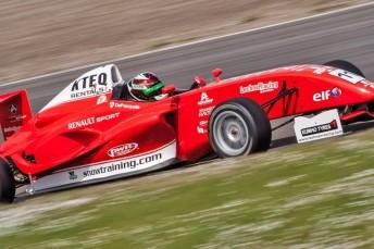 Anton De Pasquale tops Formula Renault 1.6 practice