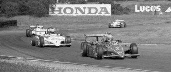 Brundle leads Senna during one of their many F3 battles
