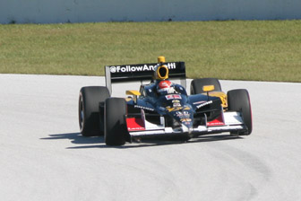 Davison had his first taste of IndyCar machinery with an Andretti test late in 2011