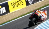 Marc Marquez grabs pole in sunny Jerez