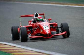 Larkham is managing De Pasquale, who is this year racing in Formula Renault 2.0