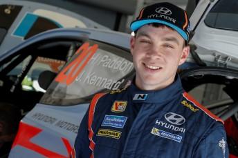 Hayden Paddon. Pic: Hyundai Motorsport/McKlein Images.