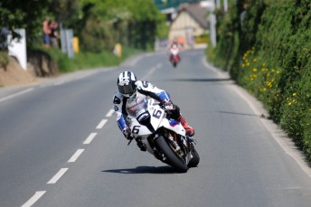 Michael Dunlop won his eighth race at the Isle of Man TT