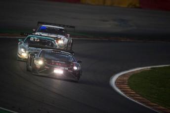 The Lago Racing Lamborghini was withdrawn during the night