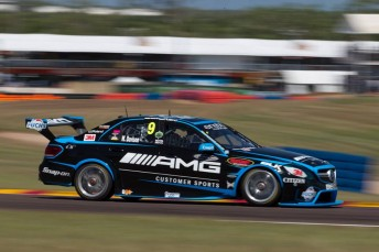 The Erebus entries will again compete with AMG signage this weekend
