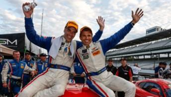 Daytona 24 H winners Christian Fittipaldi and partner Joao Barbosa win at Indianapolis