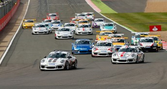 Bamber stars in Porsche Supercup at Silverstone