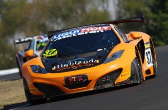 Van Gisbergen was one of the star performers at Bathurst in February aboard Tony Quinn's McLaren
