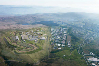 The proposed Circuit of Wales