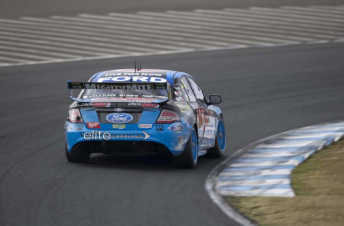 Mark Winterbottom struggled in the two dry qualifying sessions