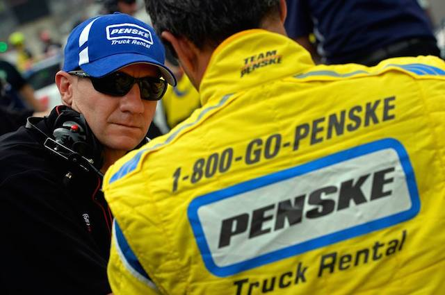 The famed yellow, white and blue Penske Truck Rental colours have been a fixture of Penske's US racing programs