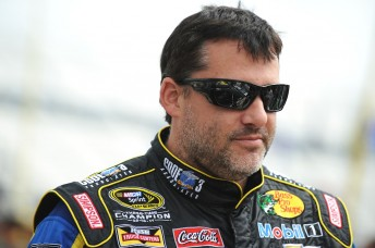 Tony Stewart has been involved in a serious incident involving another driver at a Sprint Car race in Canada.