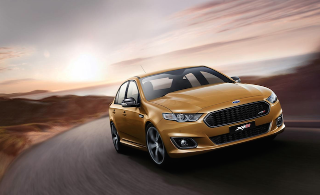 A production Ford Falcon FG X XR8 will make its first public appearance at Bathurst