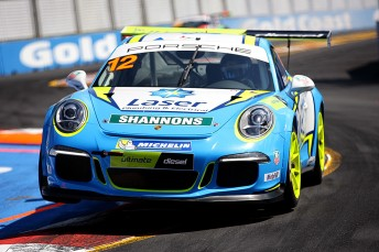 Steven Richards has edged closer to the Carrera Cup title despite missing out on victory