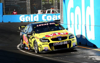 Shane van Gisbergen backed up his Bathurst pole with the top spot at Surfers Paradise