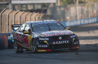 Jamie Whincup and Paul Dumbrell scored victory in the Pirtek Enduro Cup