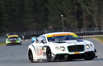 The Flying B Racing Bentley made its competitive debut at Highlands Park last weekend