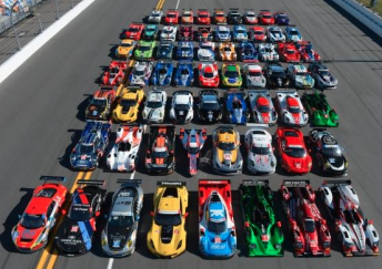 The entry for the 2014 Rolex Daytona 24 Hour