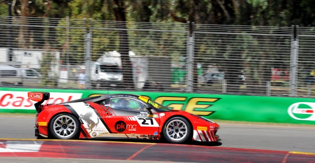 Trass Family Motorsport converted practice pace into Australian GT pole