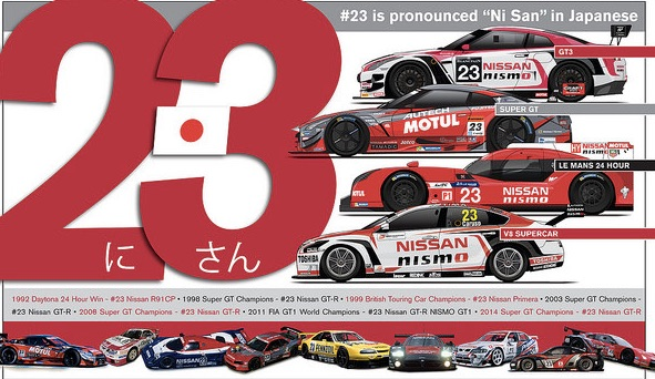 Th history of Nissan's #23