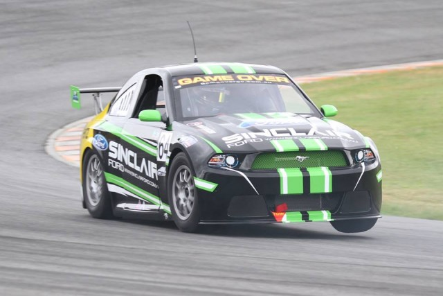 Craig Woods to his Mustang to overall ARC honours