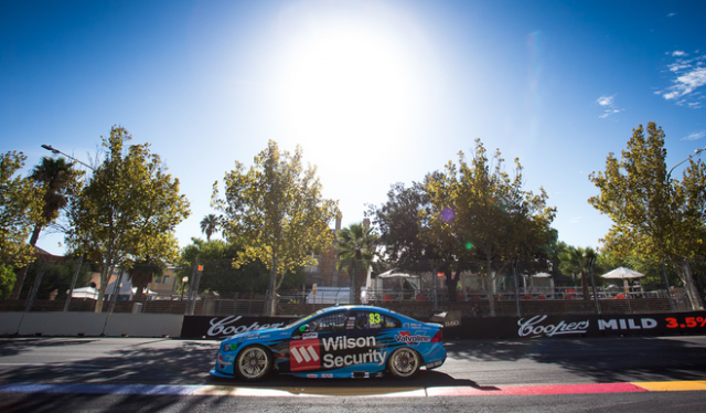 Scott McLaughlin's Volvo set the pace in Practice 2