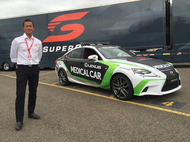 V8 Supercars permanent medical delegate Dr Carl Le