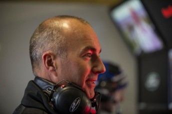 Marcos Ambrose was a keen observer in the DJRTP garage