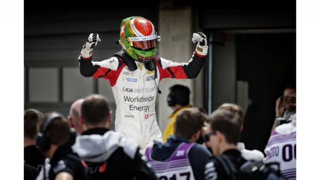Louis Deletraz emerged as the star of the opening round of Formula Renault 2.0