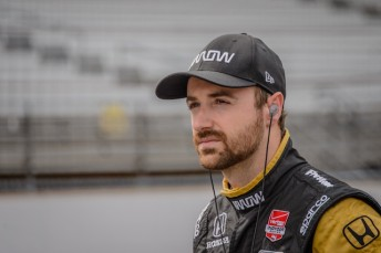 James Hinchcliffe has been moved out of ICU after showing rapid improvement following surgery