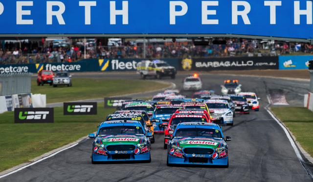 Winterbottom beat Mostert to the first corner