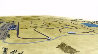An artist's impression of the Tailem Bend circuit