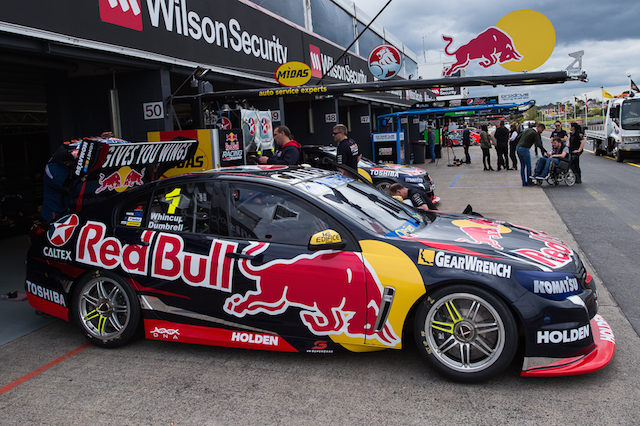 Jamie Whincup's new Holden Commodore will debut at Sandown