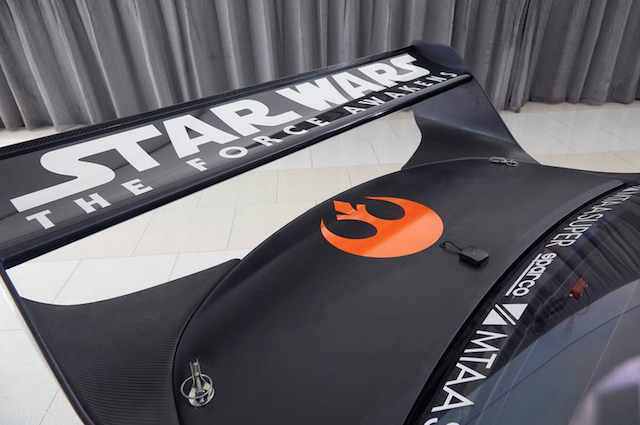 The HRT liveries are part of a larger collaboration between Holden and Star Wars