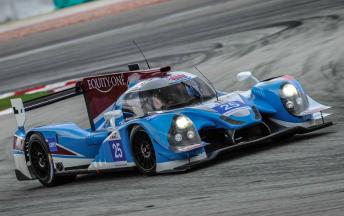 Dean Koutsoumidis, James Winslow and Michael Munemann piloted the Algarve Pro Racing Ligier to second at Sepang