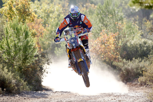 Toby Price will continue his Dakar preparations in Spain this week. pic: Future 7 Media