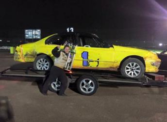 Kiona Sunerton createst history at Valvoline Raceway