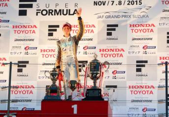 Hiroaki Ishiura claimed his maiden Super Formula crown at Suzuka