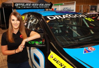 Chelsea Angelo will contest the 2016 Dunlop Series