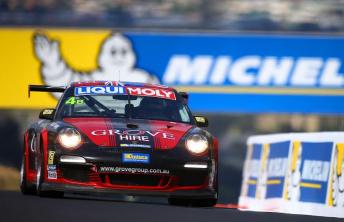 Earl Bamber and Scott McLaughlin will pilot Stephen Grove's Class B Porsche