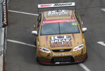 Jack Le Brocq will start from pole for the final round of the 2015 Dunlop Series