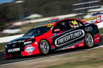 The ex-Coulthard Holden has been on the sidelines since Winton