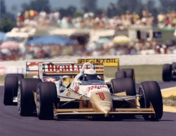 Geoff Brabham, in his only drive as a substitute for Danny Sullivan at Portland in 1989