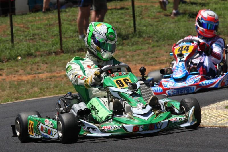 David Sera's return to the Australian Kart Champs has been a success