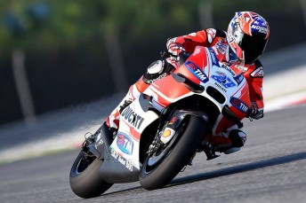 Casey Stoner was the quickest Ducati rider on the final day of the Sepang test