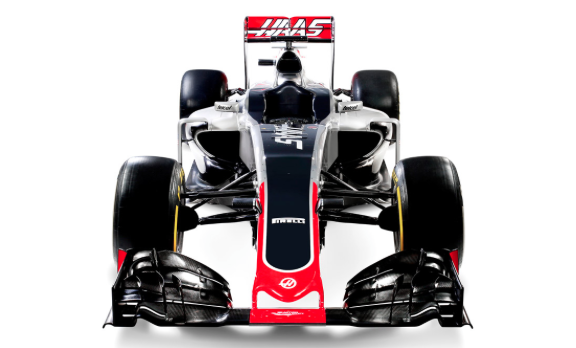 Haas F1 front