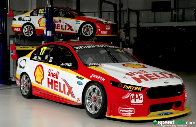 DJR Team Penske will run both cars in Shell colours in Adelaide