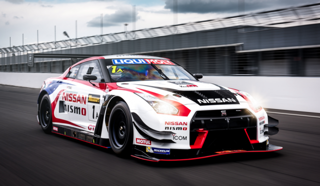 Nissan Australia's new GT-R on track at Phillip Island
